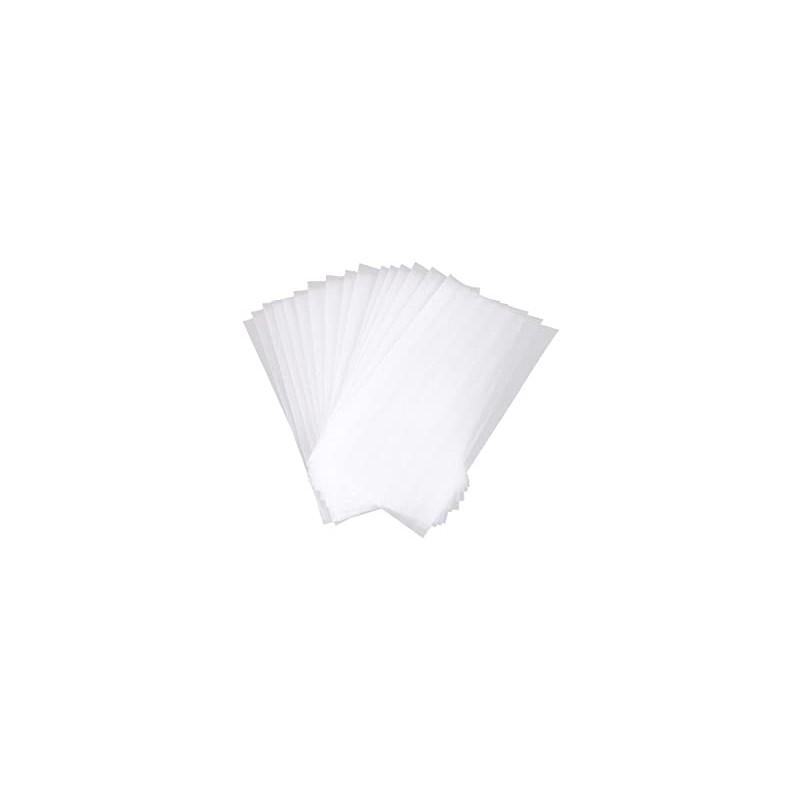 Sábana ajustable blanca tnt plastificado